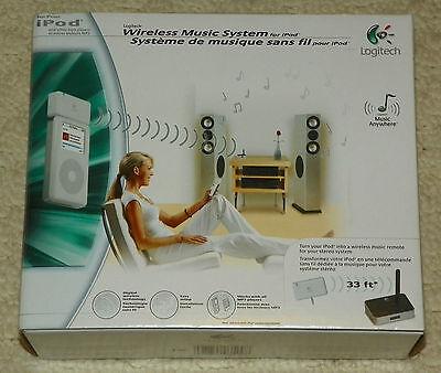 Logitech Wireless Music System (Logitech 980441-0403 Wireless Music System for iPod - BRAND NEW)