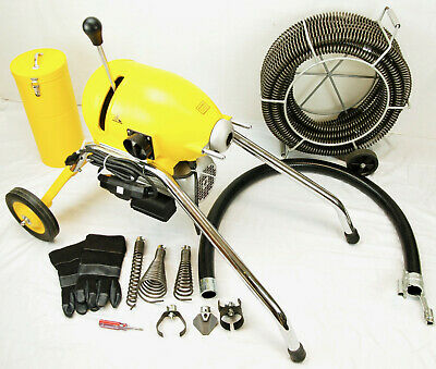 Bluerock Tools Sds200 2 - 8 Sectional Pipe Drain Cleaning Machine Snake