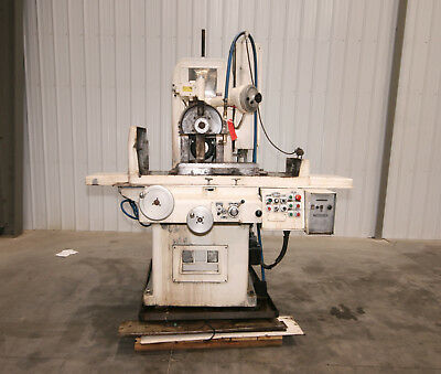 13334 Gallmeyer Livingston 12 X 24 Hydraulic Surface Grinder Model 373