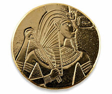 2017 1 oz .9999 Gold King Tut Coin - CertiLock Assay COA BU #A419