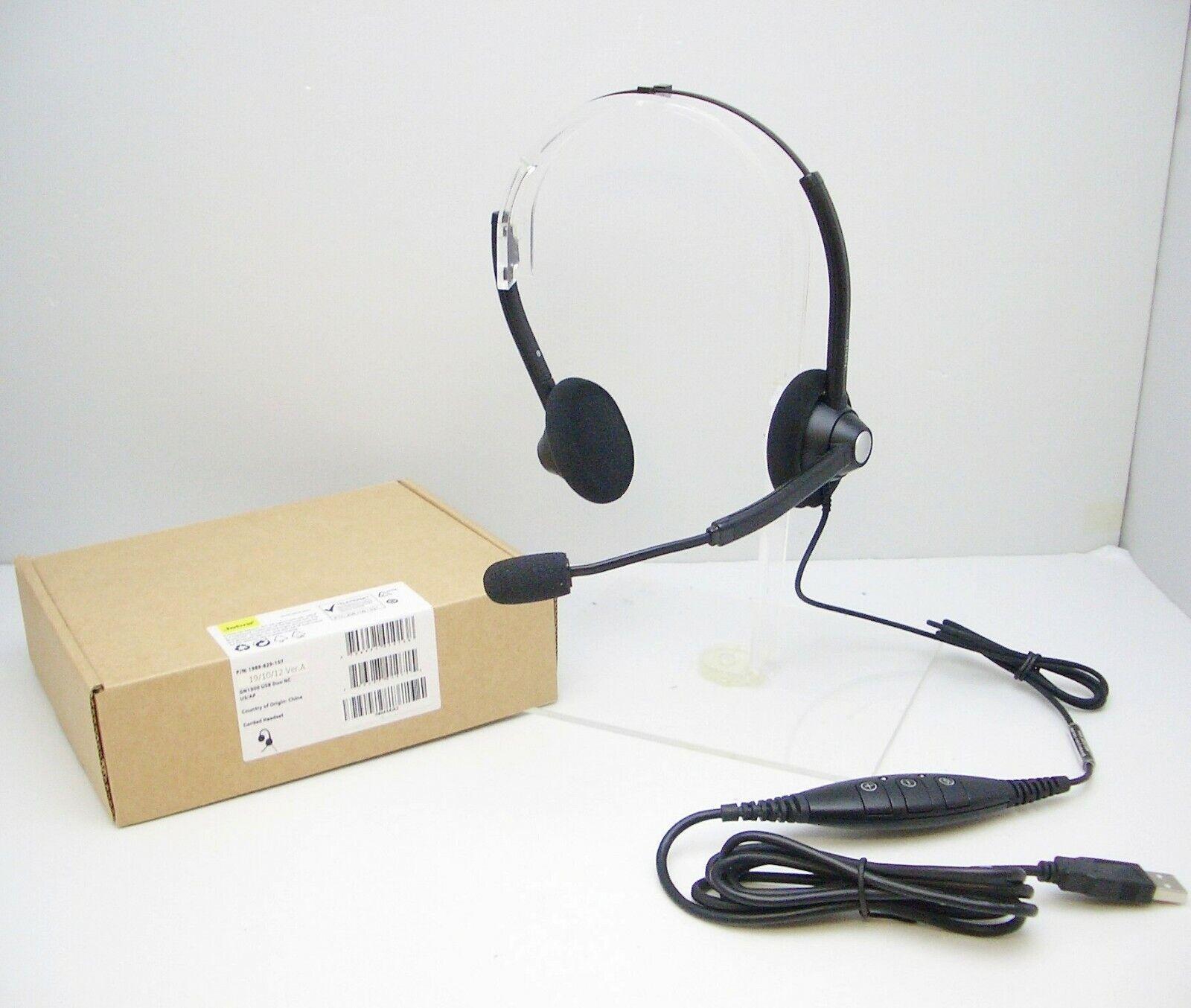 Jabra / GN Netcom BiZ 1900 USB DUO Noise-Canceling VoIP PC H