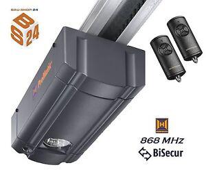 Hörmann Garagentorantrieb ProMatic 3 BiSecur + Schiene + 2 Handsender Torantrieb