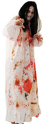HALLOWEEN-The Conjuring-Demonic Fancy dress Includes Wig & Make up Sizes 8- - Demonic Halloween Costumes