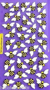 EK SUCCESS STICKO STICKERS  - INSECTS, BUGS, WASPS - BEES