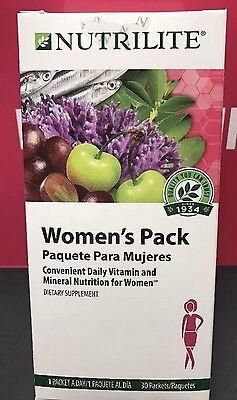 Amway Nutrilite Womens Pack  30 Packets   105481  Exp 09 2018