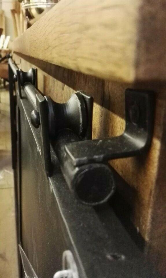 Sideboard Industrial Massivholz Mango 190cm, Metall, Schiebetüren in Nordrhein-Westfalen - Viersen