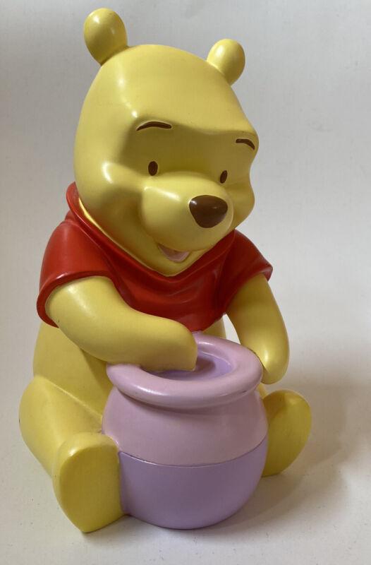 "Winnie the Pooh Piggy Bank 8"" Disney Store Nursery Baby Decor"