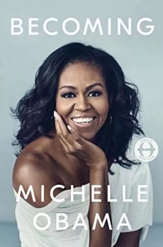 BECOMING by MICHELLE OBAMA- Hardcover-NEW