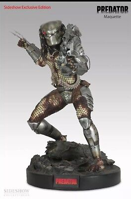 Rare Predator Maquette Exclusive 1/4 scale by Sideshow Sold Out NIB.