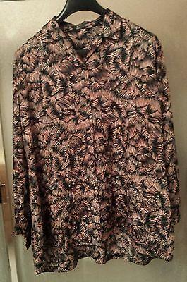 Miss Campbell 2 in 1 Twin-Set twinsets Damen Bluse und Jacke schwarz elegant
