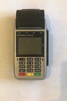 First Data F-410 Wireless Credit Card Machine