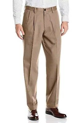 Dockers Mens The Best Pressed Signature Khaki Pants Classic Fit Pleated