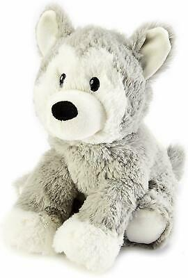 Warmies Plush Heat Up Microwavable Soft Cuddly Toys With A Lavender Scent, Husky