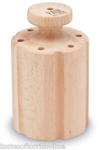 Paul Hollywood Bakeware Beechwood Hand Raised Boiled Pastry Pork Pie Dolly Mould
