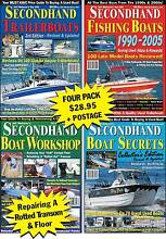 Secondhand Boat Secrets Mag Pack - Haines Hunter, Quintrex Southport Gold Coast City Preview