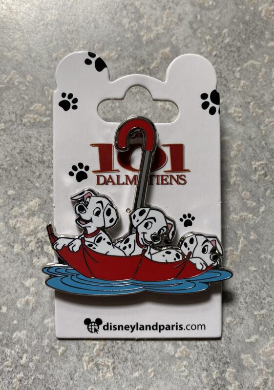 New Disney DLRP DLP Disneyland Paris Puppies Umbrella 101 Dalmatians Pin 2021