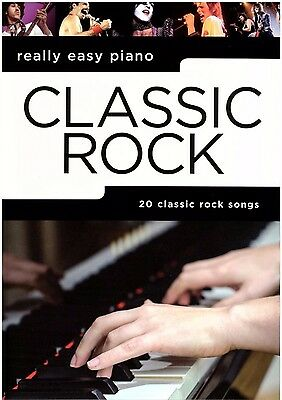 Klavier Noten : Classic Rock (Really Easy Piano)  leicht  - AM 1012891 - B-WARE