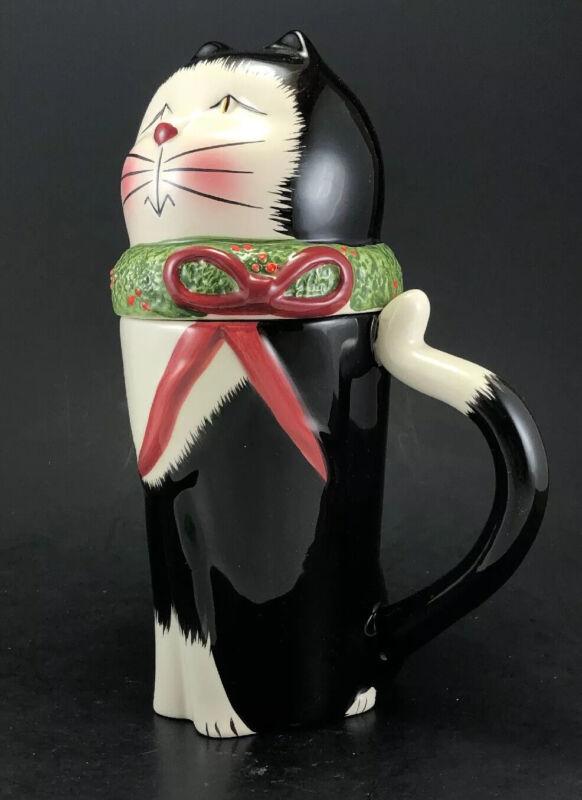 Sakura Beverage Buddies Christmas Cats
