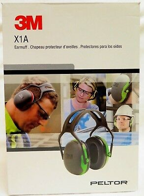3m Peltor X-series Over-the-head Earmuffs Hearing Protection Headphones