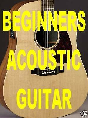 Beginners Acoustic Guitar Lessons Dvd Video Learn Fast  Learn Chords Immediately