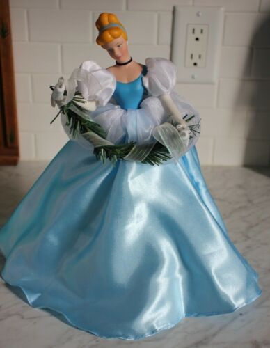 Disney Cinderella Christmas Tree Topper with Lights