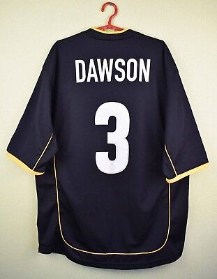 Hull City jersey shirt #3 DAWSON 2003/2004 Away official patrick football s. XL image