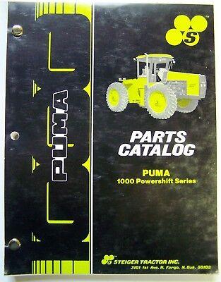 1986 Steiger Puma 1000 Powershift Series Tractor Parts Manual