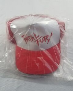 OFFICIAL SNK NEO GEO FATAL FURY TERRY BOGARD HAT BRAND NEW NOS TRUCKER HAT PROMO
