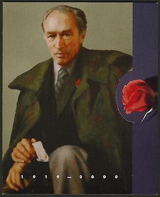 Canada 1909a in folder MNH Pierre Elliot Trudeau, Flower