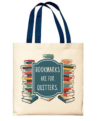 Book Gifts Bookmarks Are For Quitters Funny Librarian Gifts
