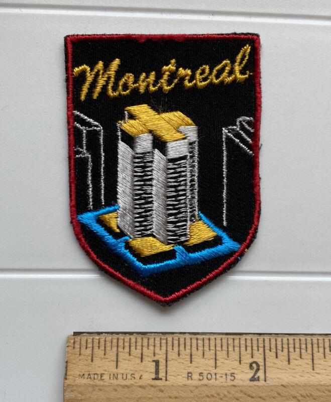 Place Ville Marie PVM Tower Montreal Quebec Canadian Souvenir Patch Badge