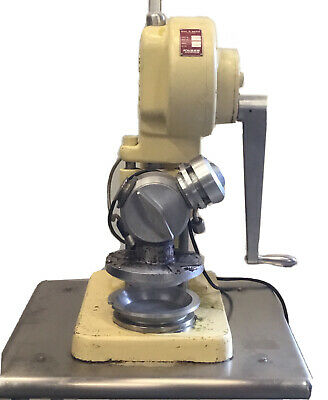 Dial-o-matic D-301 Pie Press 115 Volts 1 Phase Tested Clean University Surplus