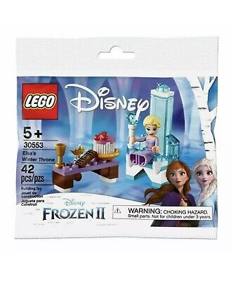 *LEGO* Frozen 2: Elsa's Winter Throne (30553) Super Fast Shipping