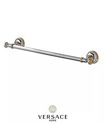 Gold 24 Inch Towel Bar - Versace Classic Chrome Gold Towel Bar Holder Medusa 60cm 24 Inches New Authentic