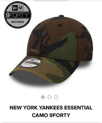 NY Yankees New Era 9Forty League Basic Baseball Cap Camouflage