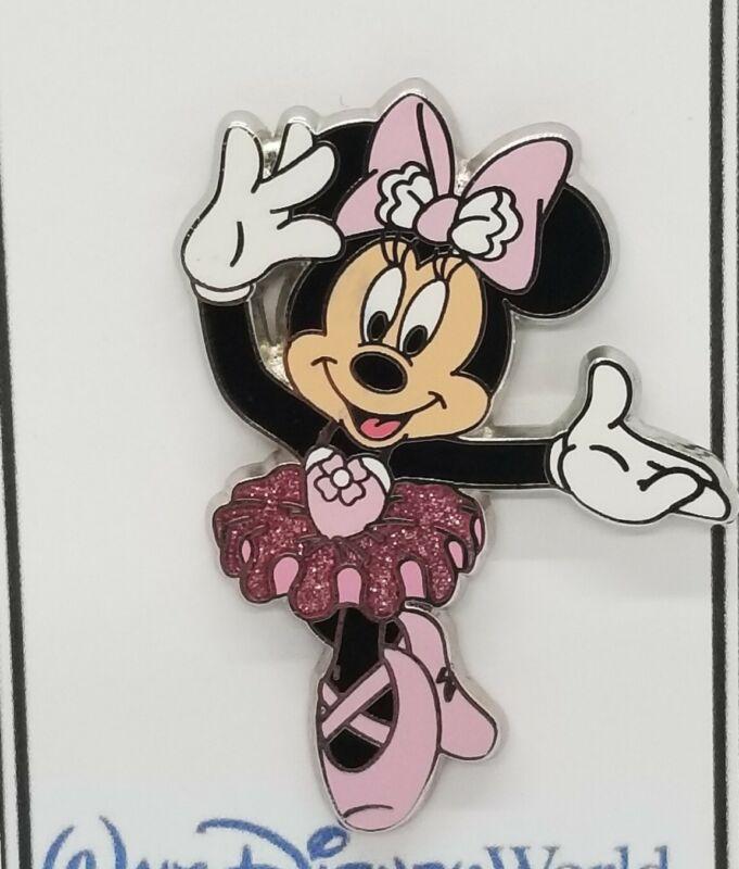 DISNEY PIN -  2017 Sparkle BALLERINA Minnie Mouse Dancing Ballet #121713 TRADE