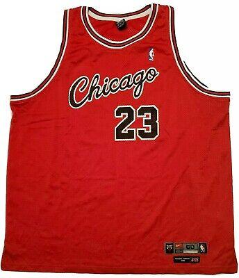 Michael Jordan Nike Rookie Red Flight 8403 Jersey 4XL Chicago Bulls NBA Size 60