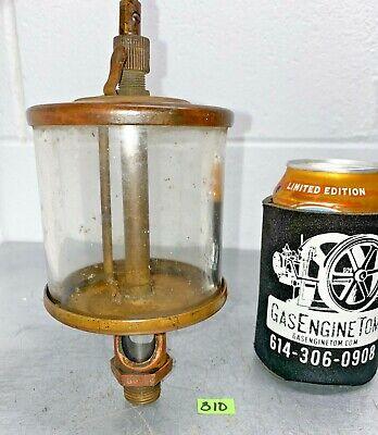 Lonergan Brass Cylinder Oiler 391 Hit Miss Gas Engine Vintage Antique Steampunk