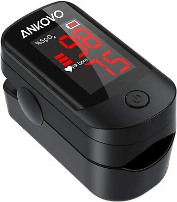 Pulse Oximeter Fingertip Blood Oxygen Saturation Monitor For Pulse Rate Bonus