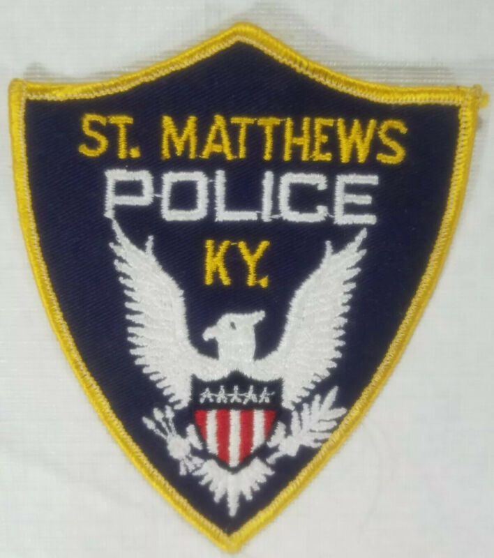 St. Mathews Kentucky Police Department Patch