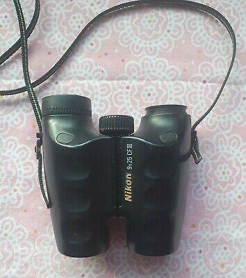 Nikon 9x25 CF III Binoculars With Strap