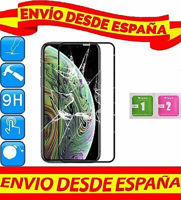 Protector Pantalla Cristal Templado COMPLETO NEGRO APPLE IPHONE XS MAX GAMUZAS