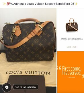 Wanted: 100% Authentic Louis Vuitton Speedy Bandouliere 25