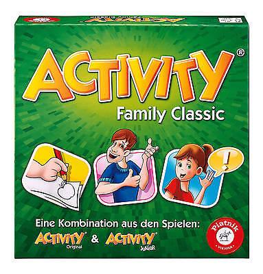 ACTIVITY FAMILY CLASSIC - PIATNIK 6050 # NEU OVP