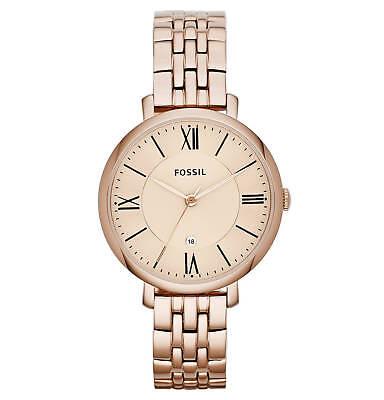 FOSSIL Uhr JACQUELINE ES3435 Damenuhr Armbanduhr - Rose
