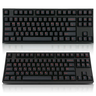 Leopold FC750R Black Tenkeyless Mechanical Keyboard US English / Korean (Brown)