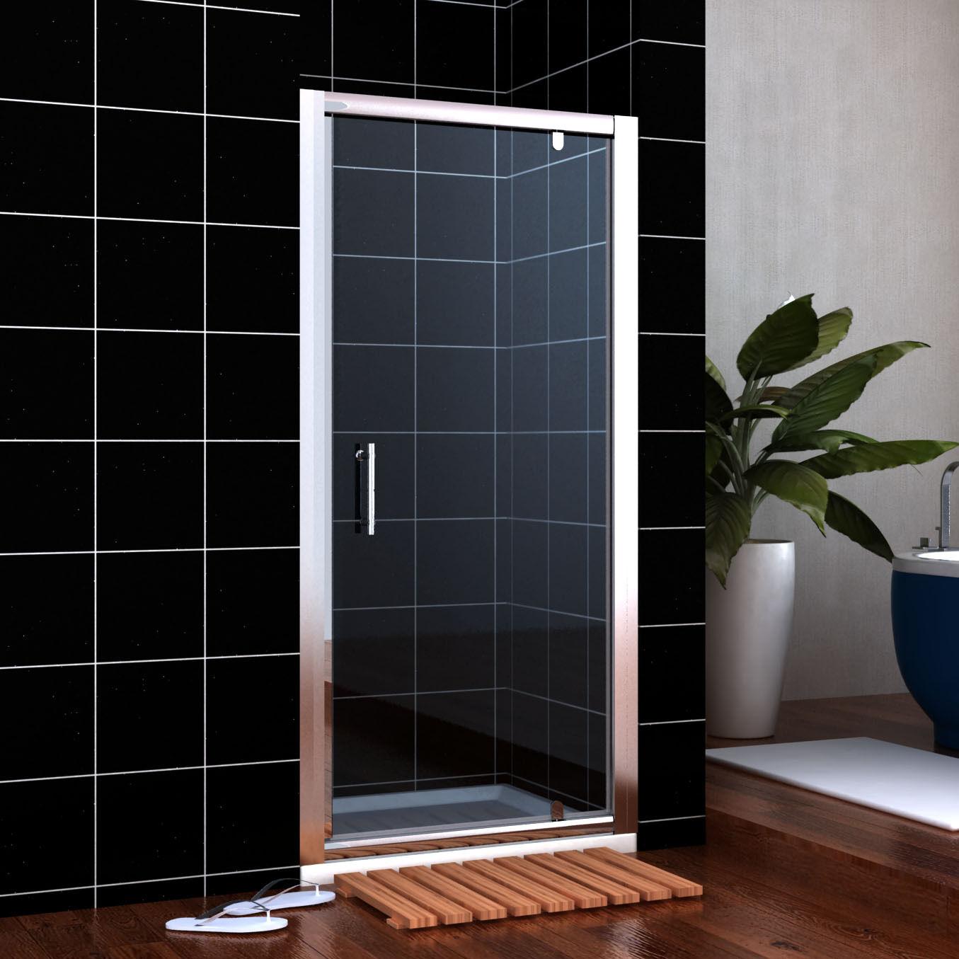 Pivot Hinge Shower Door Enclosure Screen 700 760 800 860