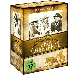 High Chaparral Complete TV Series DVD Box Set Seasons 1 2 3 & 4 New Region 2