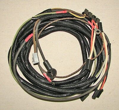 Ih Farmall International 1206 Rowcrop Wheatland Rh Panel Harness Cable 392444r9