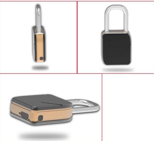 Tecmac Zinc Alloy Stainless Steel Waterproof Mini Electronic Smart Fingerprint